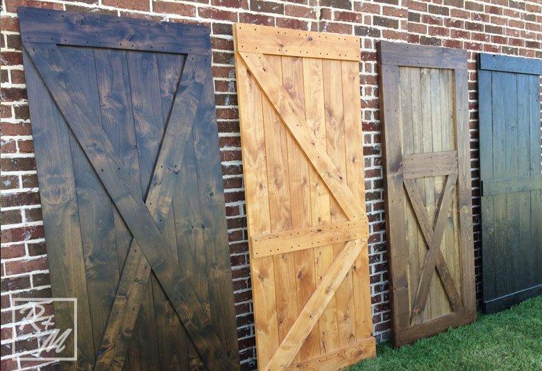 Ways to use barn doors frisco rustic barn doors for Rustic interior barn doors
