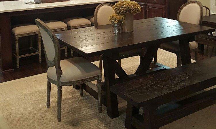 Handmade Custom Wood Tables McKinney